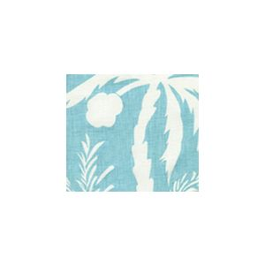 6015-02 LYFORD BACKGROUND Light Turquoise on White Quadrille Fabric