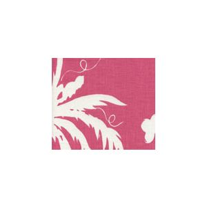 6015-07 LYFORD BACKGROUND Magenta on White Quadrille Fabric