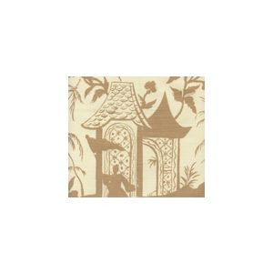 6600-10 LYFORD PAGODA PETITE Camel II on Tinted Quadrille Fabric