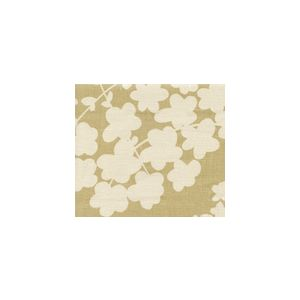 4101-07 LYSETTE REVERSE Taupe on Tan Quadrille Fabric