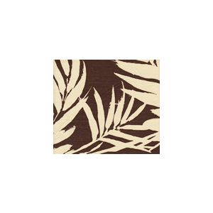 4025-08 MARTINIQUE REVERSE Brown on Tan Custom Only Quadrille Fabric