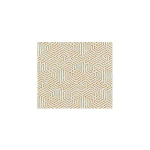 2510L-04 MAZE Camel II on Tint Quadrille Fabric