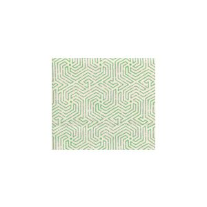 2510L-03 MAZE Jungle Green on Tint Quadrille Fabric