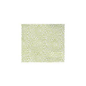 2510L-03SUN MAZE Jungle Green Quadrille Fabric