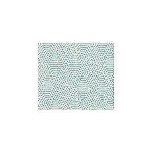 2510L-01WSUN MAZE Turquoise  Quadrille Fabric