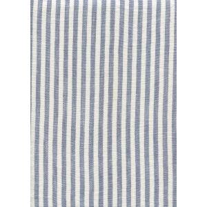 008381T MINI STRIPE Dark Blue Quadrille Fabric