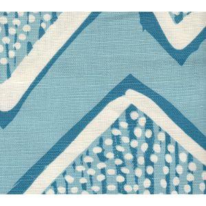 AC250-07WSUN MONTECITO Turquoise on Tint Quadrille Fabric