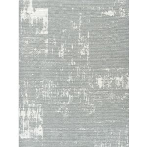 7065-09SM NEW SHADOWS Silver Metallic on White Quadrille Fabric