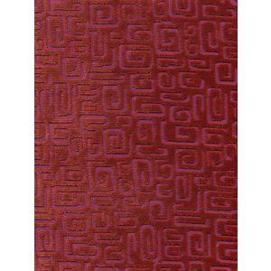 CP00012 ORSAY VELVET Persimmon  Quadrille Fabric