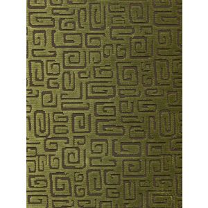CP00013 ORSAY VELVET Sage Green Quadrille Fabric