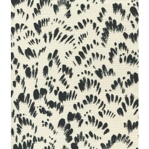 8210-10 PASSY II Black on Tint Quadrille Fabric