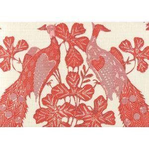 8270-03 PEACOCK BATIK Multi Oranges on Tint Quadrille Fabric