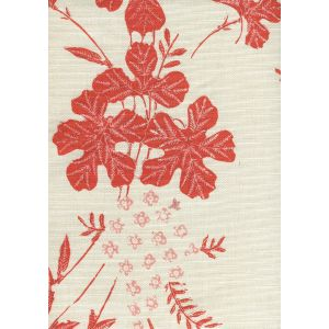 8280-03 PEACOCK FLORAL Multi Oranges on Tint Quadrille Fabric