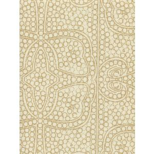 CP1000-02 PERSIA Camel on Taj Ecru Quadrille Fabric