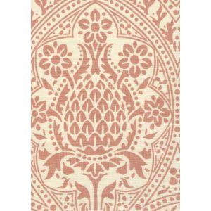 302131F PINA Terracotta on Tint Quadrille Fabric