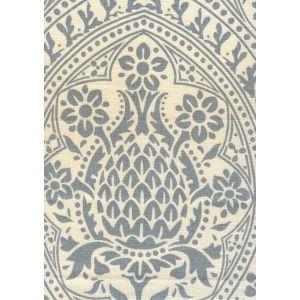 302135F PINA Windsor Blue on Tint Quadrille Fabric