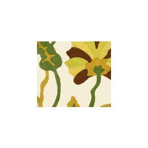 AC804-18 POTALLA Multi Greens Rust on Tint Quadrille Fabric