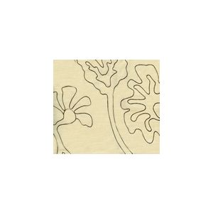 AC804L-16 POTALLA OUTLINE Brown on Tint Quadrille Fabric