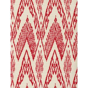 7980-11 RAFFLES Red on Tint Quadrille Fabric