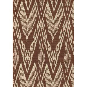 7990-09 RAFFLES REVERSE Brown on Tint Quadrille Fabric