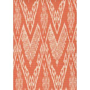 7990-05 RAFFLES REVERSE Peach on Tint Quadrille Fabric