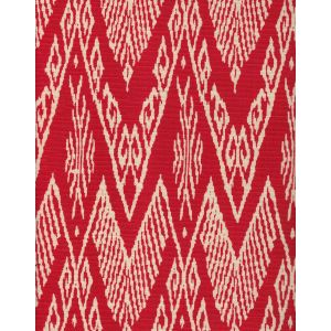 7990-11 RAFFLES REVERSE Red on Tint Quadrille Fabric