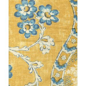 2438-02 RIVIERE ENCHANTEE Saffron Quadrille Fabric