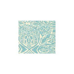 302262F-WSUN SAN MICHELE Dark Turquoise Quadrille Fabric