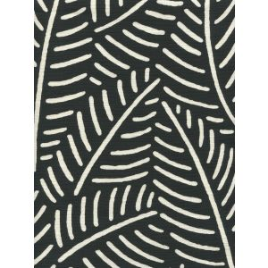 CP1025-09 SAUVAGE REVERSE Black Quadrille Fabric