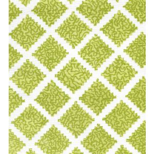 JF01000-07 SHANGHAI Pistachios on White Quadrille Fabric