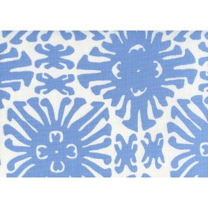2475-10 SIGOURNEY SMALL SCALE French Blue on White Quadrille Fabric