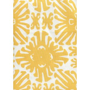 2475-03 SIGOURNEY SMALL SCALE Yellow on White Quadrille Fabric