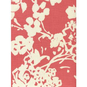 8130-07 SILHOUETTE REVERSE Coral on Tint Custom Only Quadrille Fabric