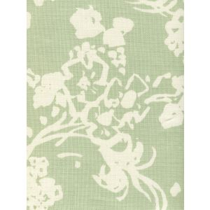 8130-02 SILHOUETTE REVERSE French Green on Tint Custom Only Quadrille Fabric