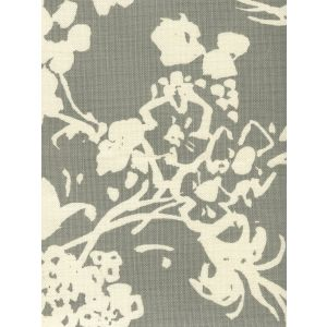 8130-03 SILHOUETTE REVERSE Gray on Tint Custom Only Quadrille Fabric