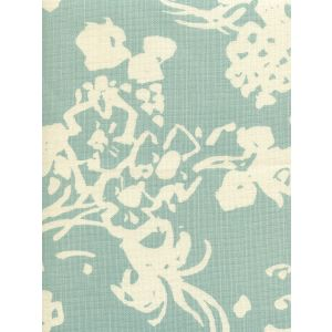 8130-04 SILHOUETTE REVERSE Windsor Blue on Tint Custom Only Quadrille Fabric
