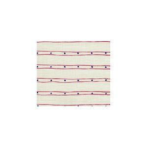 AC209-34 SOHO New Navy Magenta on Tint Quadrille Fabric