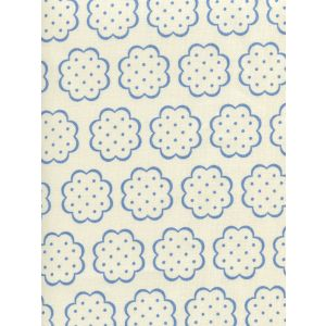 JF01060-05 SYBIL French Blue on Tint Quadrille Fabric