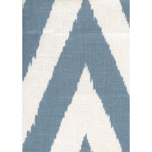 302505F TASHKENT Windsor Blue on Oyster Quadrille Fabric