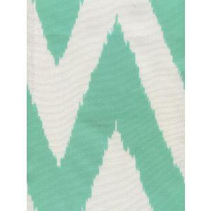 302511F-SUN TASHKENT Aqua on White Quadrille Fabric