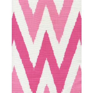306022F TASHKENT II SMALL SCALE Pink Light Pink on White Quadrille Fabric