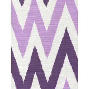 306025F TASHKENT II SMALL SCALE Purple Lilac on White Quadrille Fabric