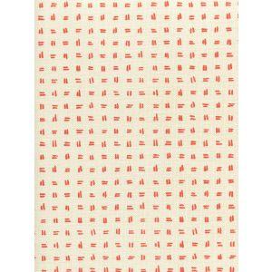 AC880-06 TATE Orange on Tint Quadrille Fabric