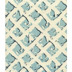 8220-09 TWIGS New Blue New Navy on Tinted Linen Quadrille Fabric