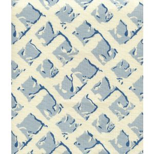 8220-04 TWIGS Soft Blue New Navy on Tint Quadrille Fabric
