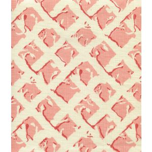 8220-03 TWIGS Soft Pink Coral on Tint Quadrille Fabric