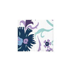 306227FWSUN UZBEK Multi Purple Blues Quadrille Fabric