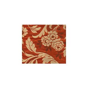 009974T VILLA EMO Flame Marrone Multi Quadrille Fabric