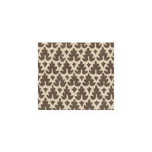 304049VSUN VOLPI Brown on Vellum Quadrille Fabric