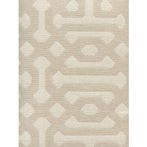 306400F WISCASSET Beige Ivory Quadrille Fabric